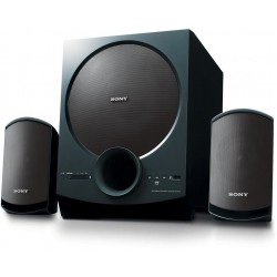 Sony Multimedia Speaker System with Bluetooth (SA-D20 2.1 Channel, Black)