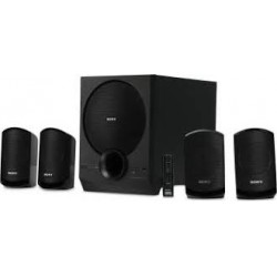 Sony Multimedia Speaker System with Bluetooth (SA-D40 4.1 Channel, Black)