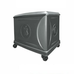 Viraj Grey Colour - single Inveter and Battery Trolley