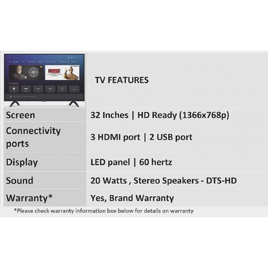 Mi TV 4A PRO 80 cm (32 inches) HD Ready Android LED TV (Black)