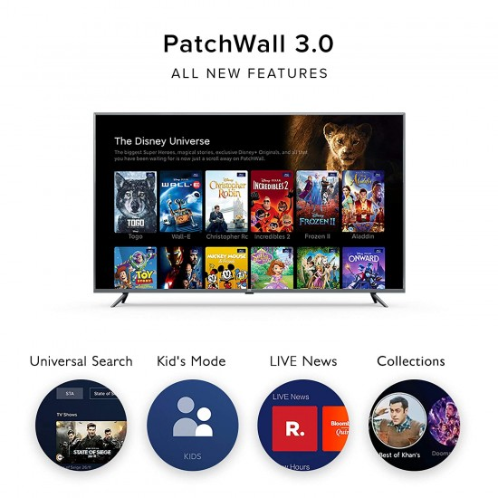 Mi TV 4A PRO 108 cm (43 inches) HD Ready Android LED TV (Black)