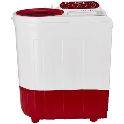 Whirlpool 7.2 Kg Semi-Automatic Top Loading Washing Machine,  (Coral Red)
