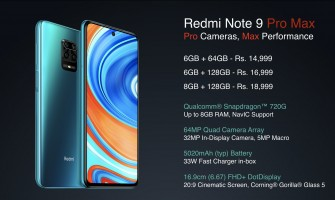 Redme Note9 Pro